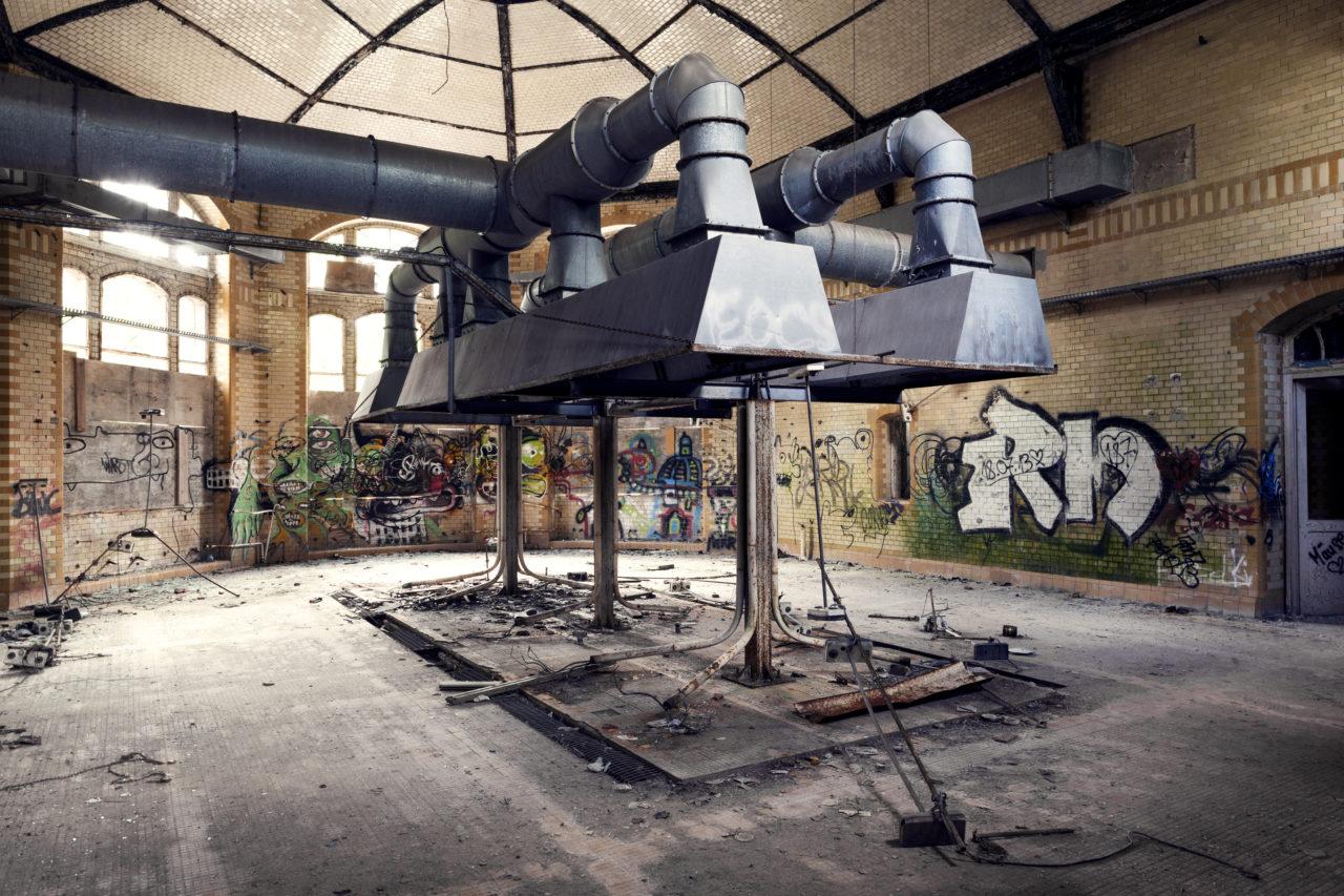 ©Baum&Zeit Baumkronenpfad Beelitz-Heilstätten KochKüche Saal Abzugshaube
