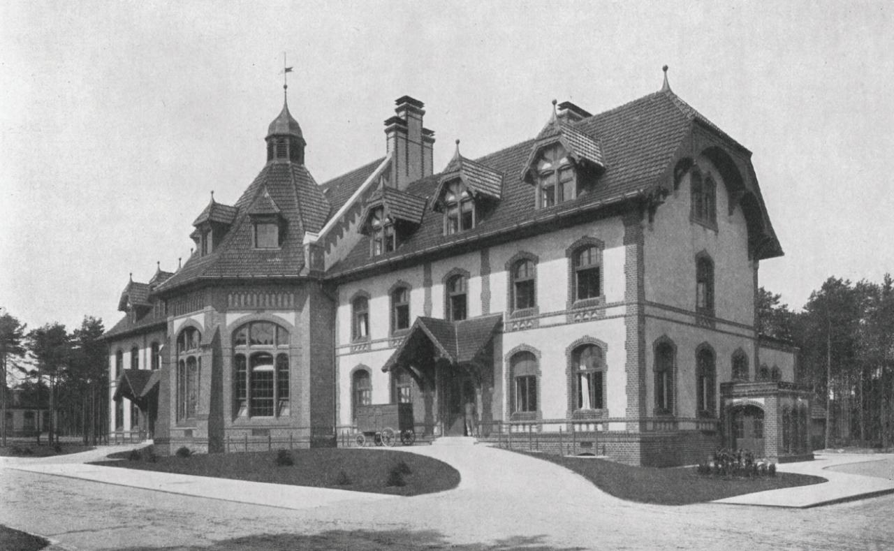 Baum&Zeit Baumkronenpfad Beelitz-Heilstätten historische Aufnahme KochKüche