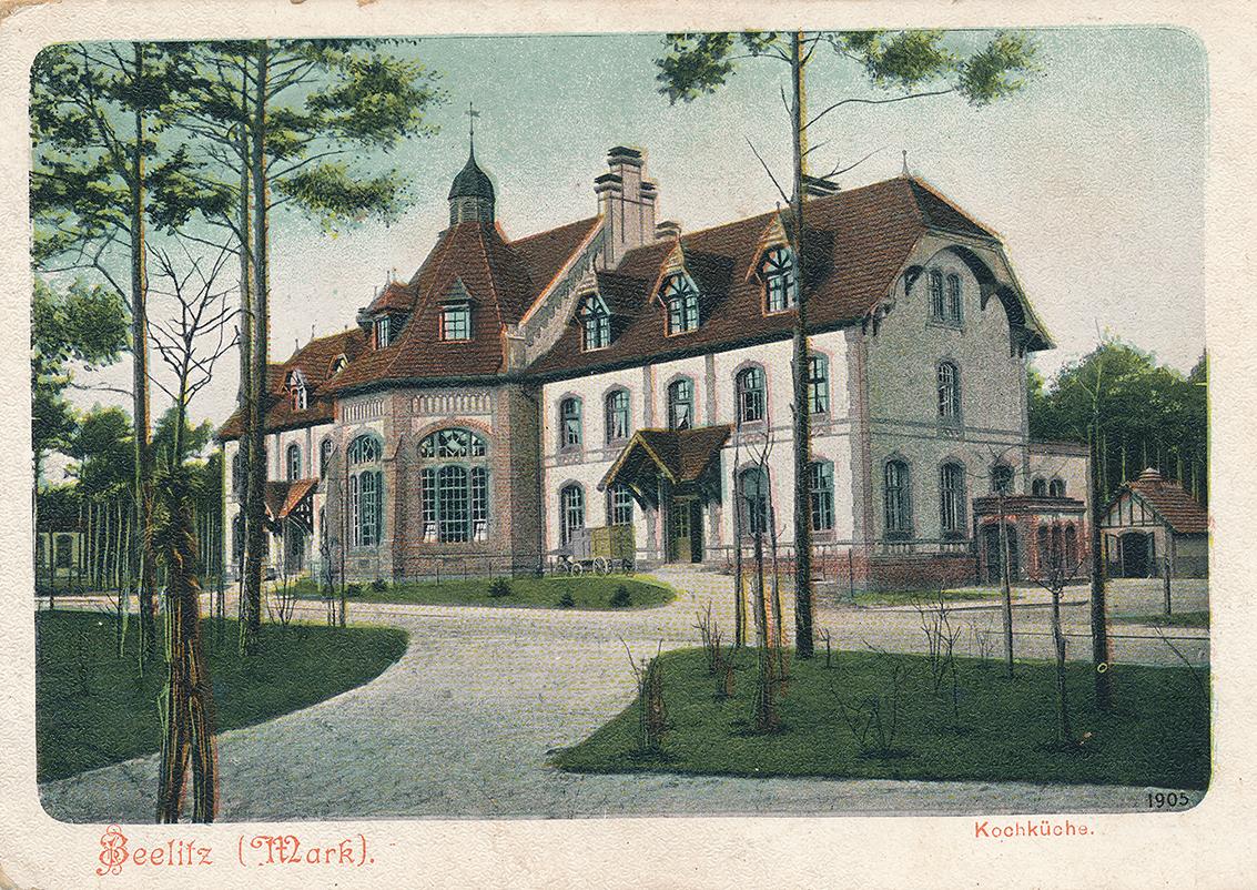 Baum&Zeit Baumkronenpfad Beelitz-Heilstätten historische Postkarte KochKüche