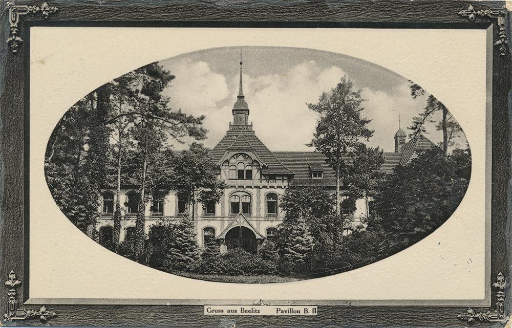 Baum&Zeit Baumkronenpfad Beelitz-Heilstätten historische Aufnahme A4