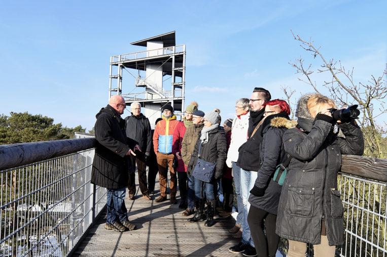 ©Baum&Zeit Baumkronenpfad Beelitz-Heilstätten Erlebnis Baumkronenpfad im Winter
