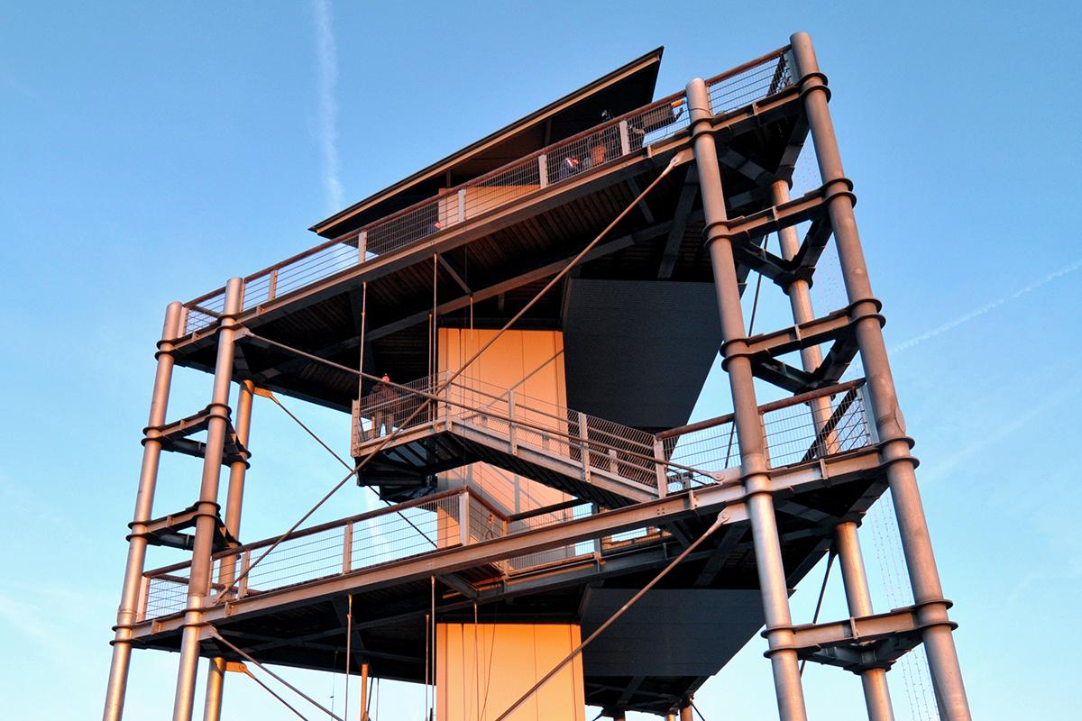 ©Baum&Zeit Baumkronenpfad Beelitz-Heilstätten Aussichtsturm Spitze