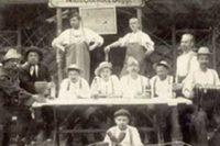 Beelitz-Heilstätten historische Aufnahme Biergarten