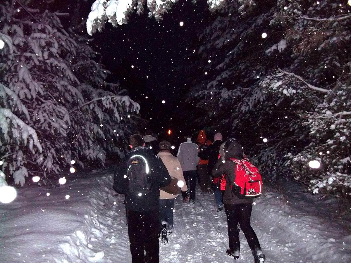 Winter - Teamwanderung